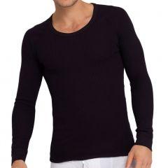 Holeproof Aircel Thermal Long Sleeve Tee MYPU1A Black Mens T-shirt