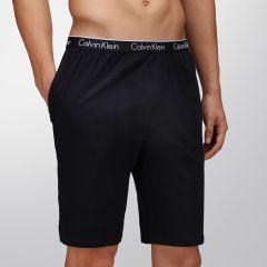 Calvin Klein CK One Cotton Short Knit NB1158 Black Mens Sleepwear