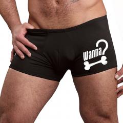 Male Power Wanna Bone? Trunk OAS-005 Black Mens Underwear