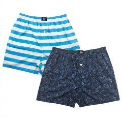 Coast Clothing Cotton Boxers 2 Pack 19CCU504 Paisley Mens Underwear