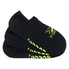 Bonds X-Temp No Show 3 Pack Socks SXX43N Black Mens Socks