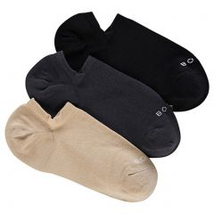 Bonds Mens Aussie Cotton No Show 3 Pack SYFH3N Multi Mens Socks