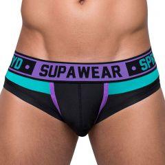 Supawear Cyborg Brief Underwear U22CY Cyber Purple Mens Underwear