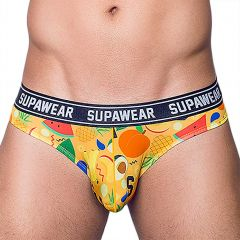 Supawear Brief U27PO Fruit Punch Mens Underwear