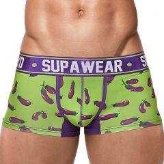Supawear Sprint Trunk U31SP Eggplant Mens Underwear