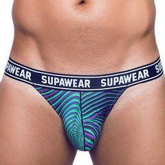 Supawear POW Jockstrap Underwear U91PO Freaky Green
