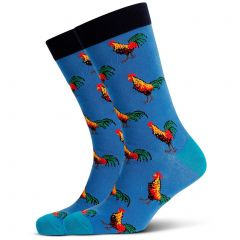 Mitch Dowd Roosters Jacquard Crew Socks XMDM626 Multi Mens Socks