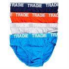 Tradie 4 Pack Brief MJ1195SB4 Kapow Mens Underwear