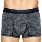Jockey International Miami Trunk MYJL1A Black Marle Mens Underwear