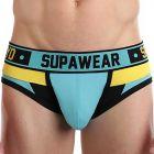 Supawear Spectrum Brief U22SP Electric Blue Mens Underwear