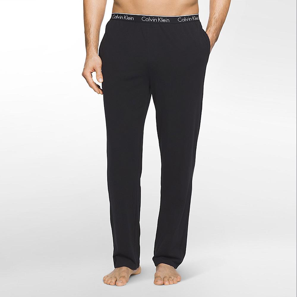 Calvin Klein CK Cotton Pant Knit NB1160 Black
