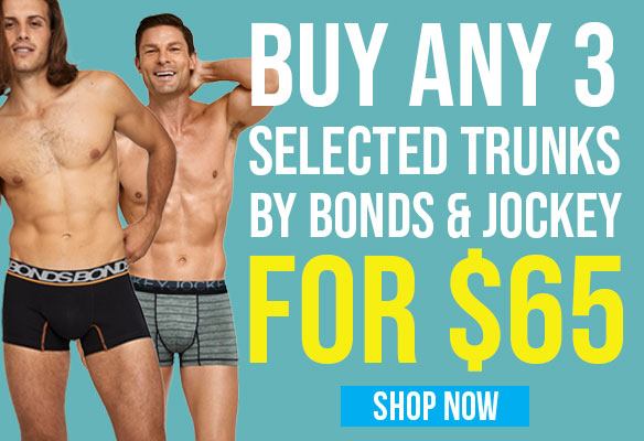 Any 3 Selected Trunks for $65