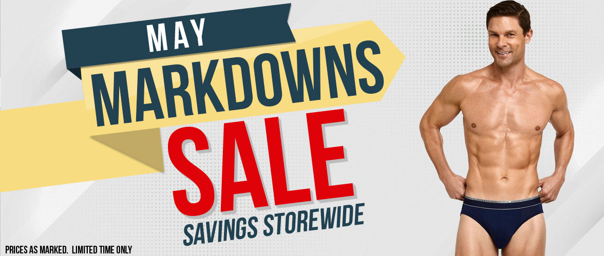 May Markdowns Sale On Now