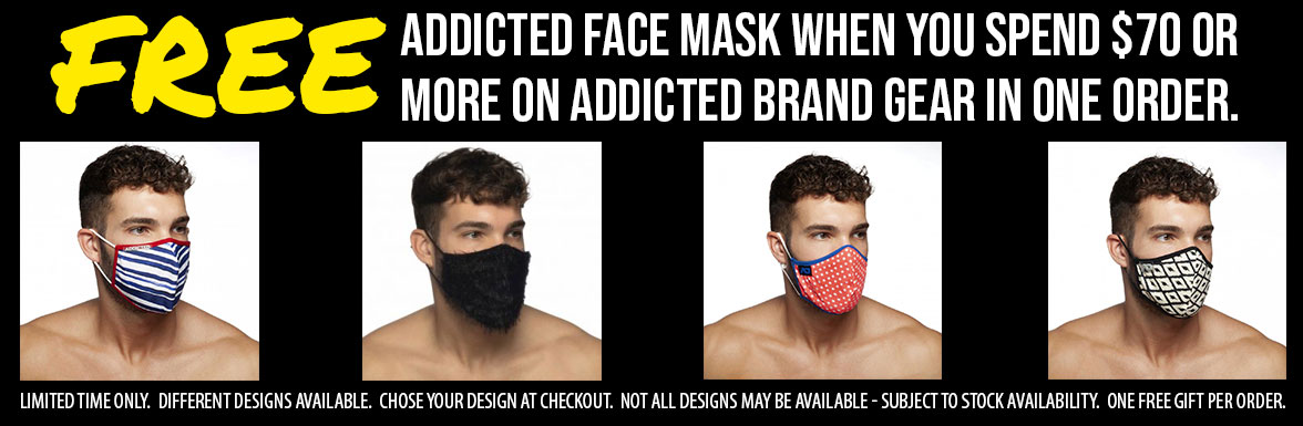 Free Addicted Face Mask Offer