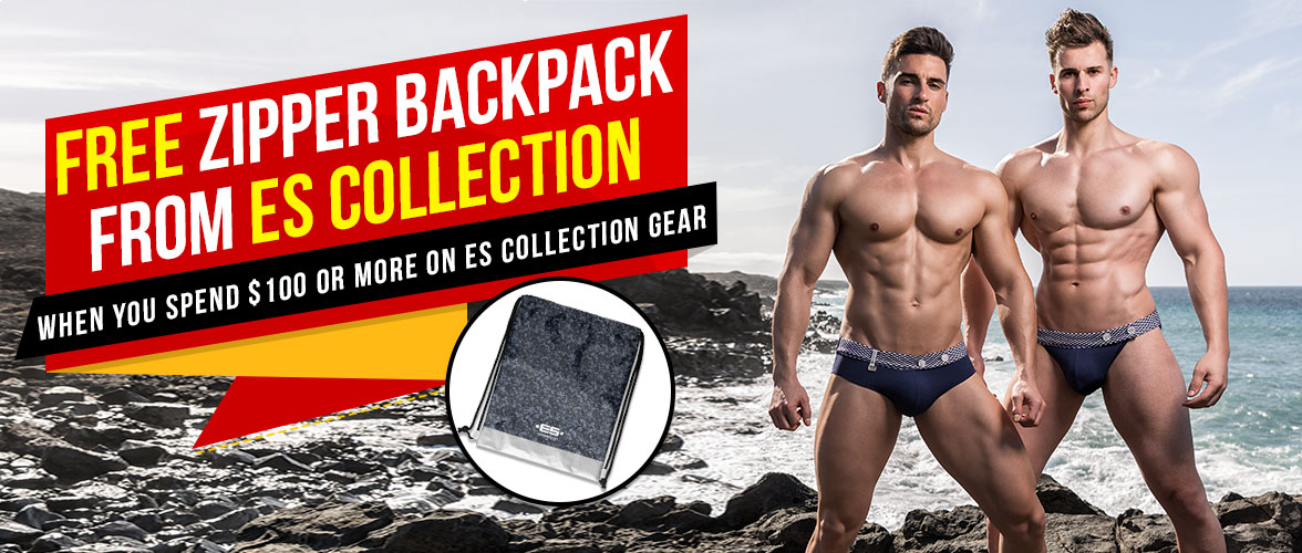 Free ES Collection Backpack Offer