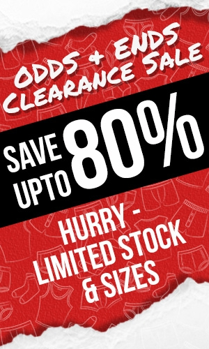 Save upto 80% Off RRP - Clearance Sale