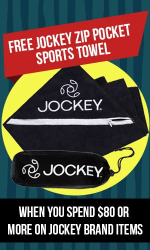 Free Jockey Sports Towel Offer