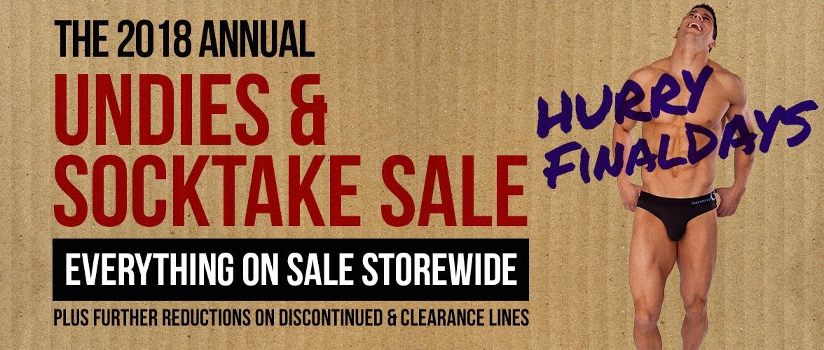 Stocktake Sale Now On
