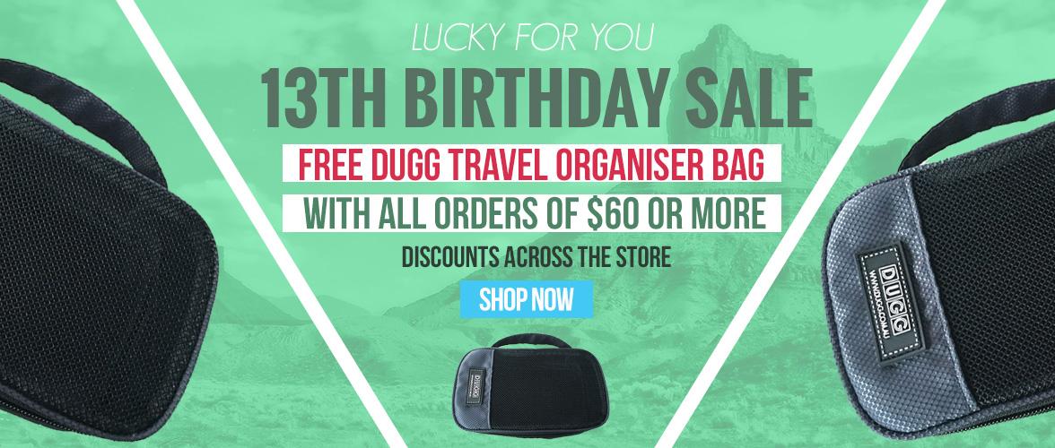 13th Birthday Sale