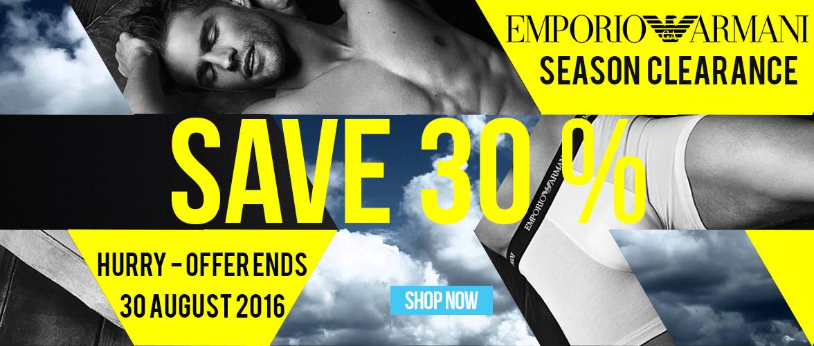 Shop Emporio Armani Mens Underwear