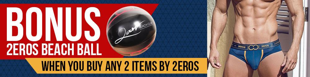 Free 2EROS Beach Ball Offer