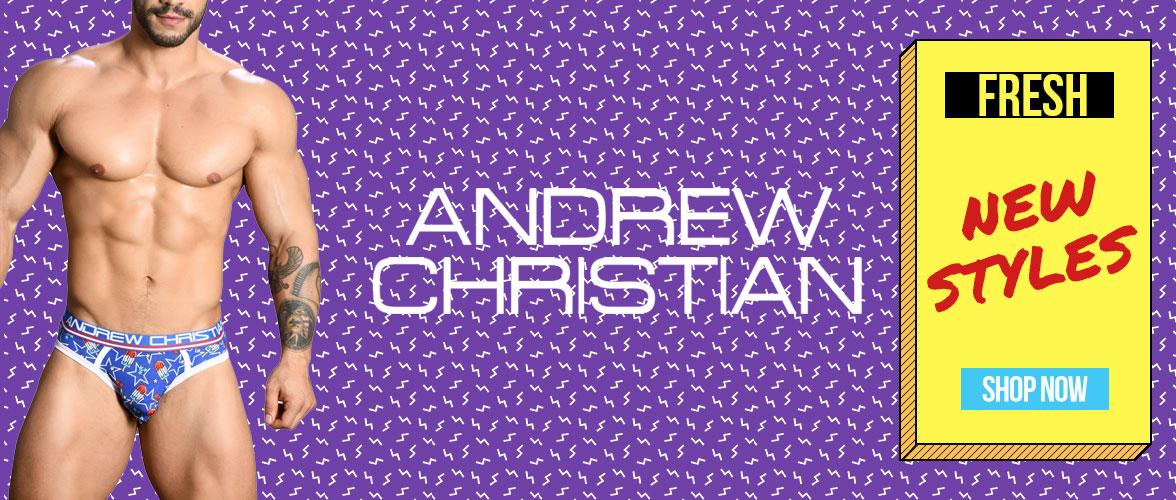 Shop New Andrew Christian Underwear