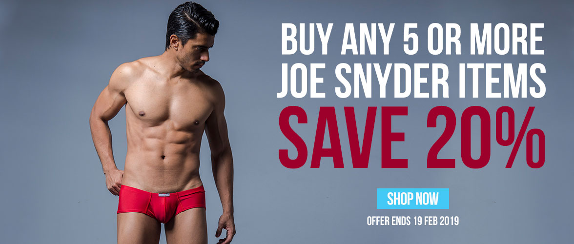 Shop Joe Snyder Underwear