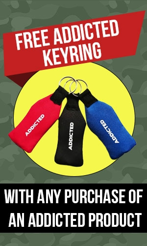 Free Addicted Keyring Offer