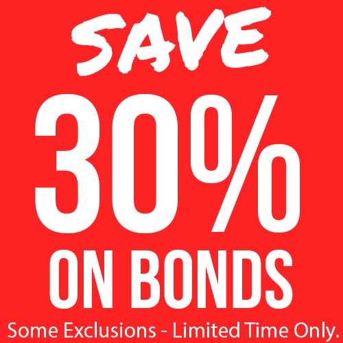 30% Off Selected Bonds