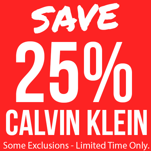 25% Off Selected Calvin Klein