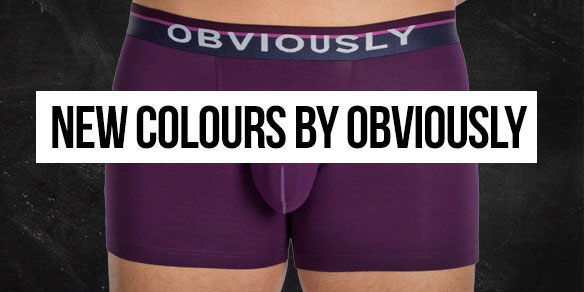 New Colours from Obviously Underwear