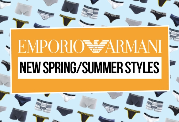 New Emporio Armani Mens Underwear
