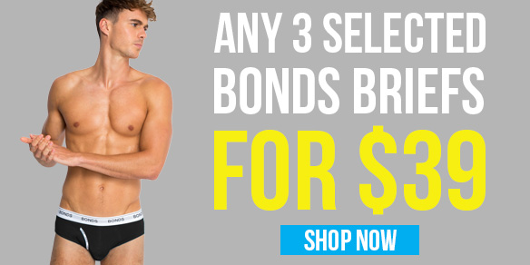 3 Bonds Briefs for $39 Offer