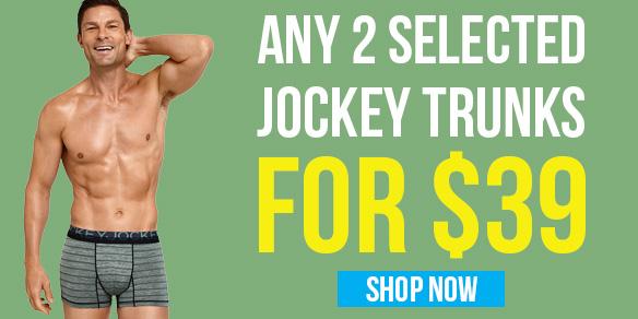 2 Jockey Trunks for $39 Offer