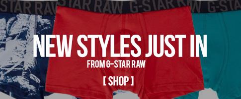 New G-Star Undies!