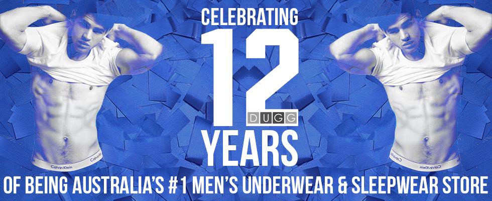 DUGG Mens Underwear - 12 Year Anniversary
