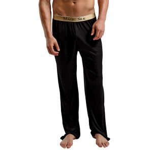 Magic Silk Knit Pants 1886 Black
