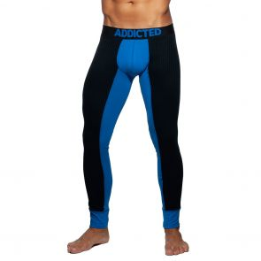 Addicted Rib Combi Long John AD780 Royal Blue