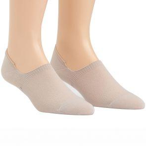 Calvin Klein Mens Caleb No Show Liner Socks 2-Pack ECL172 Sand